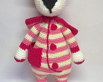 Personalized crochet teddy