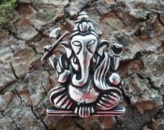 Silver Ganapati Pendant