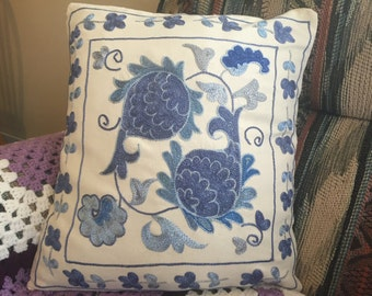 Suzani pillow case