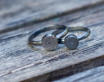 Patience ring - round