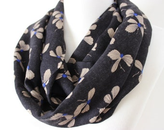 Floral Scarf, Floral Print Scarf, Floral Scarves, Floral Patterned Scarf, Gift For Her, Fashion Accessory, For Her, Women Loop Scarf, Floral