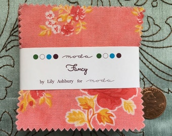 Fancy by Lily Ashbury for Moda Fabrics - MINI Charm Pack