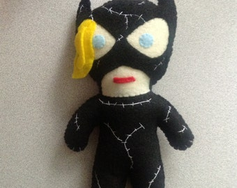 Catwoman inspired plush