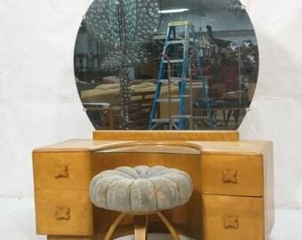 Heywood Wakefield Vanity with stool