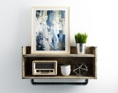 Abstract painting giclée print, neutral colors modern decor art print, abstract giclée print modern painting by Julianne Strom