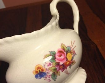 Fine bone china worcester creamer