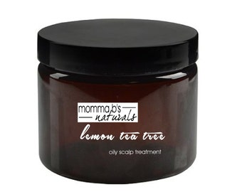 Natural Deep Conditioning Hair Mask & Scalp Treatment for Oily Scalp