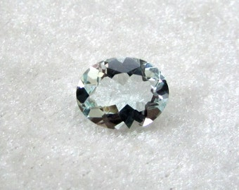 8X10 mm Natural AQUAMARINE OVAL Faceted Gemstone.....  have lots of gorgeous.....