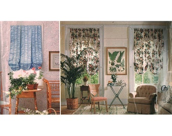 Vogue 1843 Sewing Pattern Window Treatments  Used