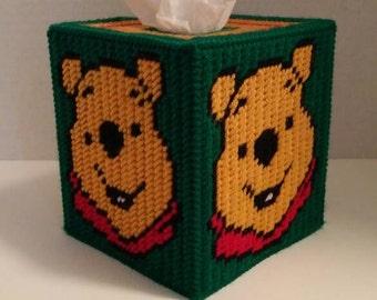 Winnie The Pooh Tissue Box Cover