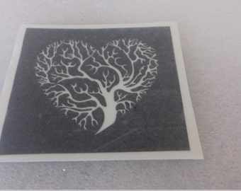 Levensboom stencils voor etsen op glas hobby ambacht etch glaswerk presenteren van Kerstmis