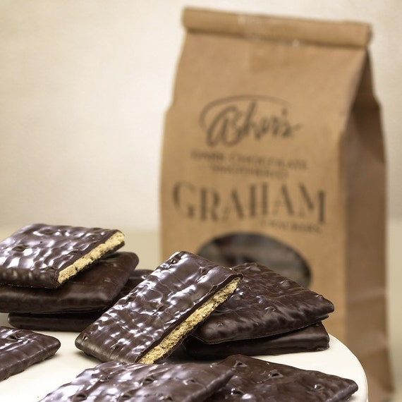 Asher's Chocolate Co. Dark chocolate Graham by Chocolatenest