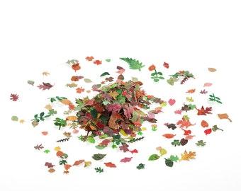Dolls House Miniature Leaves - handmade