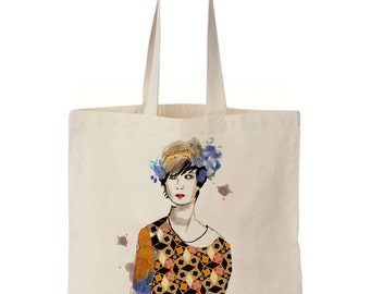 Tote Bag Lady