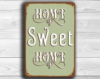 Home Sweet Home Vintage home signage   etsy