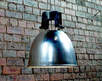 Vintage industrial holophane pendant lighting light shade