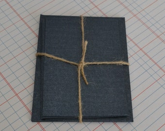 Note Cards & Envelopes x 5 Charcoal Gunmetal Card Blanks