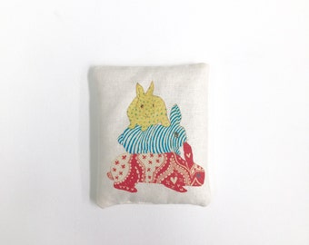 Bunny stack Mini Rice Bag - Heat Pack/Cold Pack