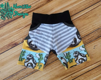 Treasure Pocket Shorts (Shorties, Board Shorts, Capris, Pants) PDF pattern 3m-12Y