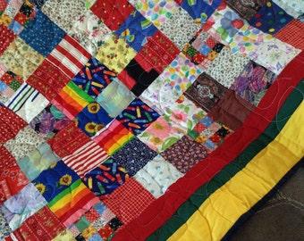 Scrap quilt #164