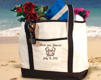 Honeymoon beach bag | Etsy