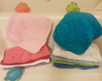Bath Time Washcloths