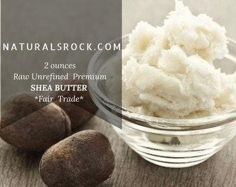 1/8 LB Raw Unrefined Organic Shea Butter *Fair Trade* (2 oz)