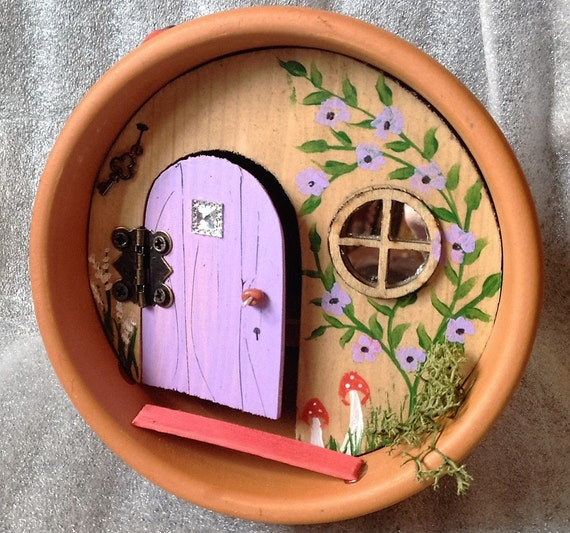 through the magic door fairies fairy housewoodland magic fairy door for by scottishfairydoors