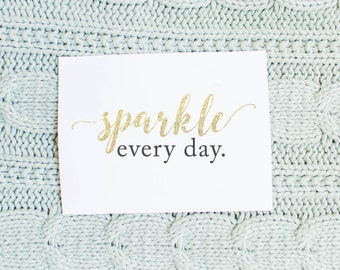 Wine Label - Sparkle Every Day