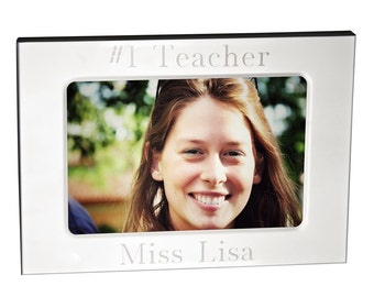 engraved picture photo frame 3 x 5 custom personalized - Engraved Photo Frame