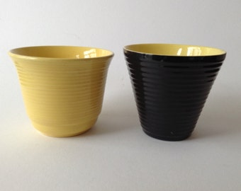 Two Small Vintage Planters