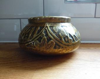 Arabic Brass Bowl/Planter