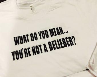 Size 6 Toddler Justin Bieber tee
