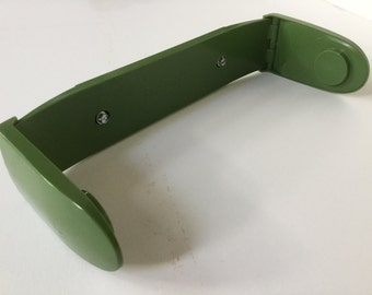 70s avocado green Scot-towel paper towel holder  counter cabinet Undermount