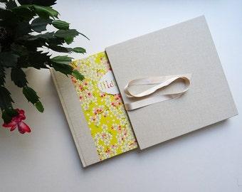 Case and photo Album / birth gift