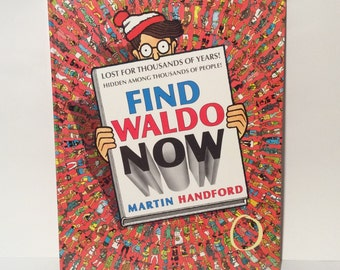 Vintage 1988 'Find Waldo Now' Oversized Classic