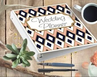 Custom Wedding Planner- Printable digital file-with monthly planner