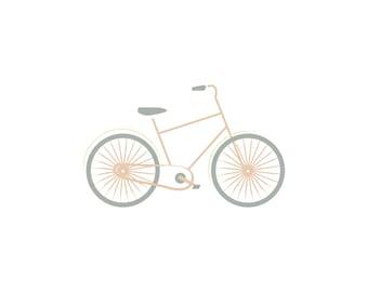 8x10 art print SWEET RIDE, Travel, Amsterdam, Bike, Bicycle, Outdoors, Wall Decor, Home Decor, Modern, Nursery