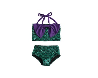 Girl's mermaid swimsuit