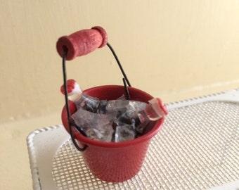 Bucket of Sodas on Ice