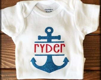 Personalized Anchor Bodysuit