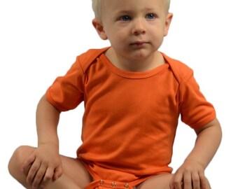 UPGRADE. Interlock Short Sleeve Bodysuit