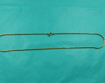 Vintage Monet Necklace - 18 Inches Long