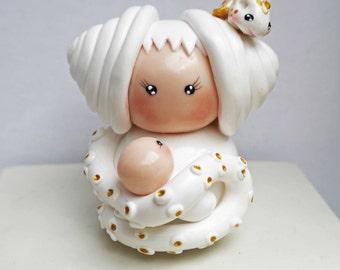 fétiche big Sue octupus with her baby