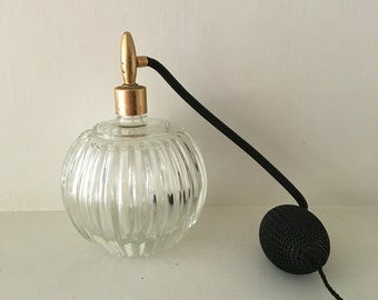 Vintage Glass Spraying Atomizer Perfume Bottle