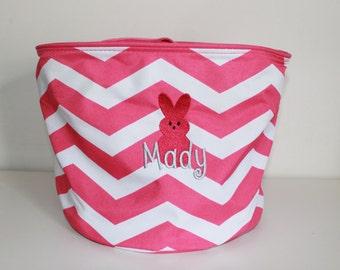 Personalized Easter Basket, Monogrammed Easter Basket, Kids Easter Basket, Easter Basket, Easter Bucket, Easter Bunny Baket