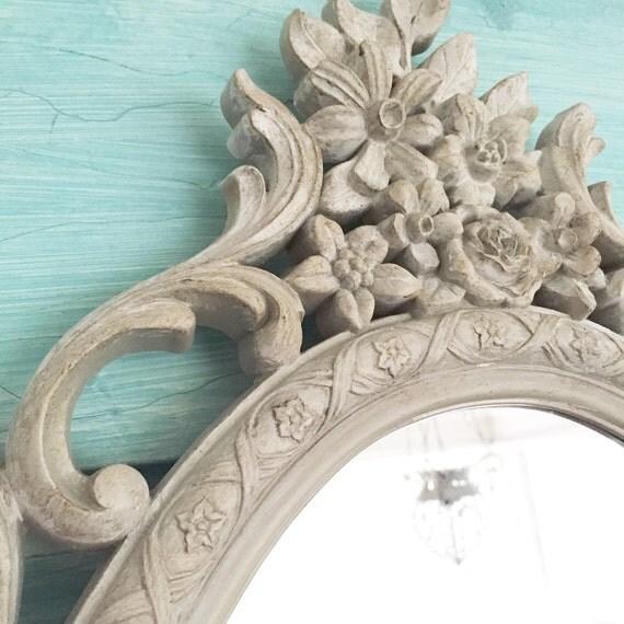 Baroque mirror french bathroom mirror shabby chic ornate for Baroque bathroom mirror