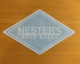 "CUSTOM Business Decal | Up to 18"" Length"