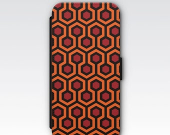 Wallet Case for iPhone 8 Plus, iPhone 8, iPhone 7 Plus, iPhone 7, iPhone 6, iPhone 6s, iPhone 5/5s - The Shining Carpet Pattern case