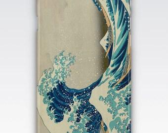 iPhone 6s Case, iPhone 6 Plus Case, iPhone 5s Case, iPhone SE Case, iPhone 5c Case, iPhone 7 case - The Great Wave off Kanagawa by Hokusai